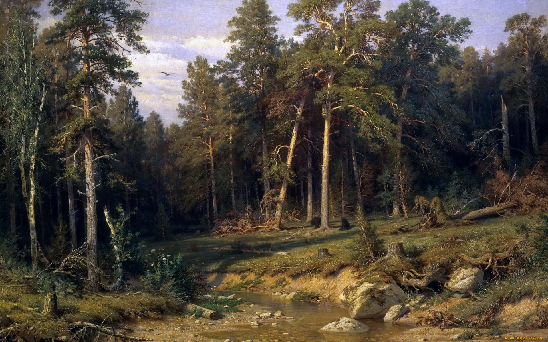 пейзаж картинки великих художников отличает крымскую